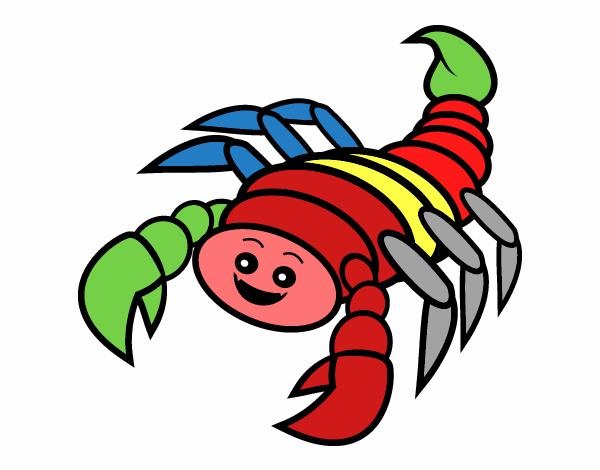 Lo scorpione colorato – di Sergio